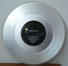 """Sonic Youth – Bull In The Heather 10"""" Silver Vinyl. #coloredvinyl #records #vinyl http://www.pinterest.com/TheHitman14/for-the-record/"""