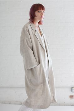 Horses Atelier Alchemical Jacket in Natural Linen  0eeb6dcc6