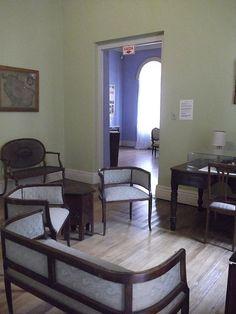 Osmar do Prado e Silva (Pu3yka) Pelotas - Bairros - Areal - Museu da Baronesa Mirror, Furniture, Home Decor, Museum, Interior Design, Home Interior Design, Arredamento, Mirrors, Home Decoration