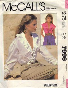 McCall's Retro 1980s Sewing Pattern Tie by AdeleBeeAnnPatterns, $4.00