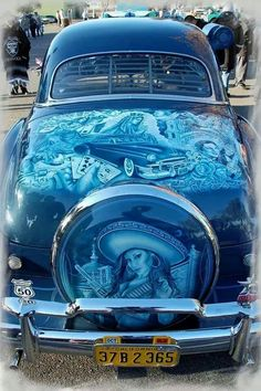 Mexican Low Riders, Dream rides...Love the artwork
