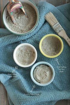 homemade clay mask recipes