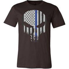 Threadrock Honor & Respect Skullcap Men Short Sleeve T Shirt - TL00636SS