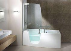 Stylish Bathtubs and Shower Enclosures  Modern Bathroom Design Ideas from  TeucoBeautiful bathtub shower combination from CAML TOMLIN  USA details  . Walk In Tub With Shower Enclosure. Home Design Ideas