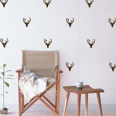 Deer & Antler Mini-Pack Wall Decals