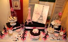 "Photo 6 of 31: Bridal/Wedding Shower ""Paris Bridal Shower"" 