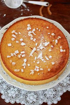 Gâteau Butternut et Orange sans gluten - Bikini et Gourmandise