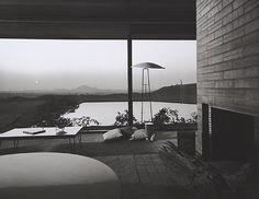 Kramer House, 1953 Norco, CA / Richard Neutra, architect Julius Schulman