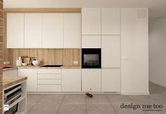 SZCZYPTA KOLORU NA SZCZĘŚLIWICACH - Średnia otwarta kuchnia w kształcie litery u, styl nowoczesny - zdjęcie od design me too