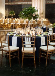 Photo: Sarah Kate Photography; wedding reception idea