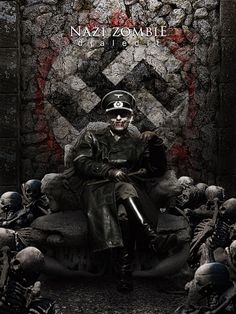Swastika Nazi Zombies of Hitler - Undead Zombie SS Stormtrooper Walker