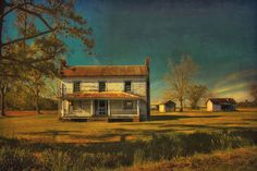 old country farm houses paintings | Low Country Farmhouse | Flickr - Photo Sharing!