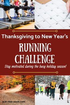 Take the Thanksgiving to New Year's Running Challenge to stay motivated, fit AND sane during the busy holiday season! from SoreyFitness . Running Challenge, Running Routine, Running On Treadmill, Running Workouts, Running Tips, Workout Challenge, Challenge Ideas, Challenge Group, Workout Plans