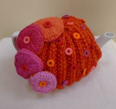 Knitted Tea Cosies, Tea Cozy, Best Tea, Knitting Designs, Cosy, Crochet Hats, Pattern, Tricot, Knitting Projects