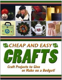 FREE e-Book: 60 Cheap and Easy Crafts!