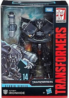 Transformers Studio Series 14 Voyager Class Movie 1 Ironhide for sale online Transformers Film, Ironhide Transformers, Transformers Collection, Transformers Action Figures, Nintendo, Live Action Film, Iconic Movies, Series Movies, The Incredibles
