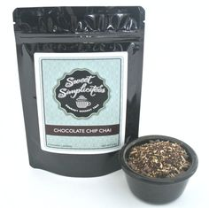 Chocolate Chip Chai Tea by Sweet Simpliciteas Gourmet Dessert Teas. Makes a great gift for the tea lover in your life.