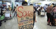 Hong Kong's airport resumed operations Wednesday just hours after thousands of anti-government protesters forcibly blocked access to the main terminal,