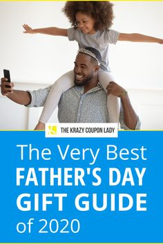 If you're stuck on what to get dad for Father's Day this year, have no fear, The Krazy Coupon Lady has a guide for that! Treat your father to the best this year — and save money while you're at it. I've rounded up some of what I think are the best Father's Day Gifts for 2020, like meats, custom & personalized gifts, photos on canvas, grills, and drills, for the dad who has everything. (Hint: He doesn't need more socks. Or a tie.) #fathersdaygifts #giftguide #savingmoney Cool Fathers Day Gifts, Great Gifts For Men, Coupon Lady, Parenting Teens, Good Good Father, Photo Canvas, Drills, You Are The Father, Gift Guide
