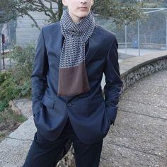 Bufanda hombre edición limitada, moda sostenible Look by LyLy Blazer, Jackets, Men, Fashion, Sustainable Fashion, Scarves, Down Jackets, Moda, Fashion Styles