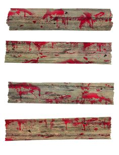 Décorations barricades de zombie  : Ce kit se compose de 4 décorations.En pvc…