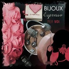 San Valentino Special  #bijouxespresso, #handmade, #madeinitaly, #swarovski, #chain, #jewels, #jewelry