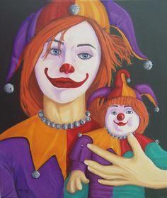 Peer Pressure Painting by Michael McEvoy - Peer Pressure Fine Art Prints and Posters for Sale