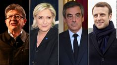 Polls have closed in France's bitterly divisive presidential election. Early projections suggest Emmanuel Macron and Marine Le Pen have made it through to the second round runoff.