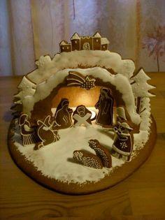 New Christmas Traditon! Gingerbread Nativity