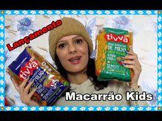 Macarrão kids Tivva - Lançamento mega gostoso   Luciana de Queiróz