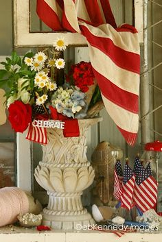 Summer is all about the Red, White, and Blue... See more in my Summer / Issue V Sweet ReTreats column