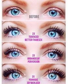 Fiber Mascara Review: Too Faced Vs. Younique Which do you think ...