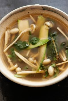 This soup is a great way to use up any excess asparagus you might have hanging around.