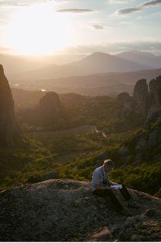 Meteora - Kalambaka - Griechenland - Klöster_