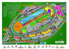 daytona international speedway seating chart row