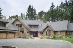 I like the guest suite for pap.  Must get the full basement.  I would extend out the garage to 4 bays, or make the second & third bays tandem deep House Plan 48-466