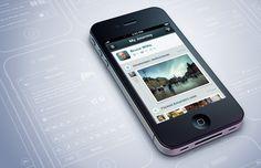 Location based iphone interface ramotion big