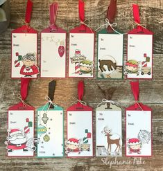 You asked and I delivered! – Stamping with Steph Stampin' Up! Inspirationen, Stampin' Up! Demonstratorin Annette Hartenfels, Stampin' Up! Noel Christmas, Christmas Gift Wrapping, Christmas Gift Tags, Christmas Paper, Xmas Cards, Handmade Christmas, Holiday Cards, Christmas Crafts, Stampin Up Christmas 2018