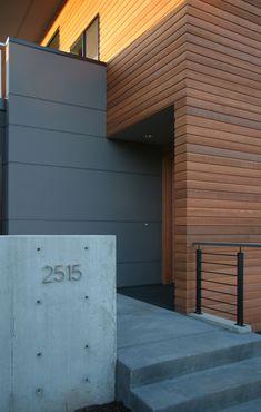Magnolia House - modern - entry - seattle - ALCOVA architecture