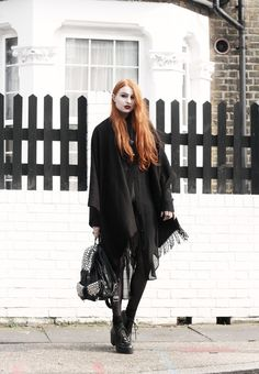 Olivia Emily - UK Fashion Blog.: Dark Layers.