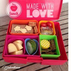 Köstliche Lunchbox für einen langen Schultag! #bentobox #laptoplunches #berlinmittebento