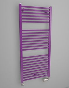 Bathroom towel warmer suitable into small bathroom. Simple towel rail radiator for good price. Angular electric radiator, central heting radiator or dual fuel radiator. Available in 216 colours. Chrome radiator. Bespoke radiator. Delivery: 4 weeks. http://www.hothotexclusive.com/en/eshop/radiators-in-signal-violet-colour-ral-4008/star-hsta/?proportion_type=1&proportion=912&color=54&heating=1