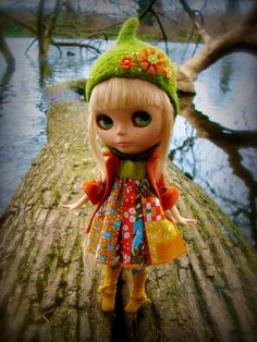 My Pappy bought my first Blythe doll at a flea market when I was 5 years old. She was my most beloved Dolly.