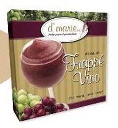 Dmarie Frappe Vino Slush Mix in a box
