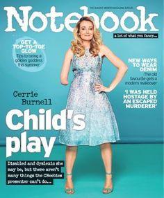 Notebook magazine  Cerrie Burnell