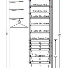 Standard Closet Rod Height Closet Rod Heights  Google Search   Details   Pinterest