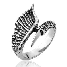Order here Size 9 Gothic Che... http://www.jeremiahjewelry.online/products/9-gothic-cheap-winged-women-and-men-vintage-bird-ring-steel-stainless-ring-br8-011-us-size?utm_campaign=social_autopilot&utm_source=pin&utm_medium=pin @JeremiahJewelry.Online