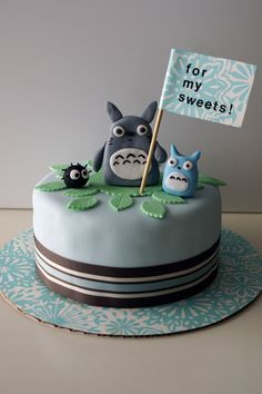 my neighbor totoro cake!!!
