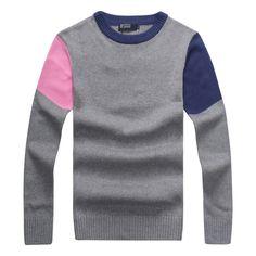 66095f8111f Novo 2014 inverno cor Hit da moda quente o pescoço manga comprida capuz  Casual camisola de