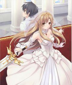 Sword Art Online, Kirito x Asuna